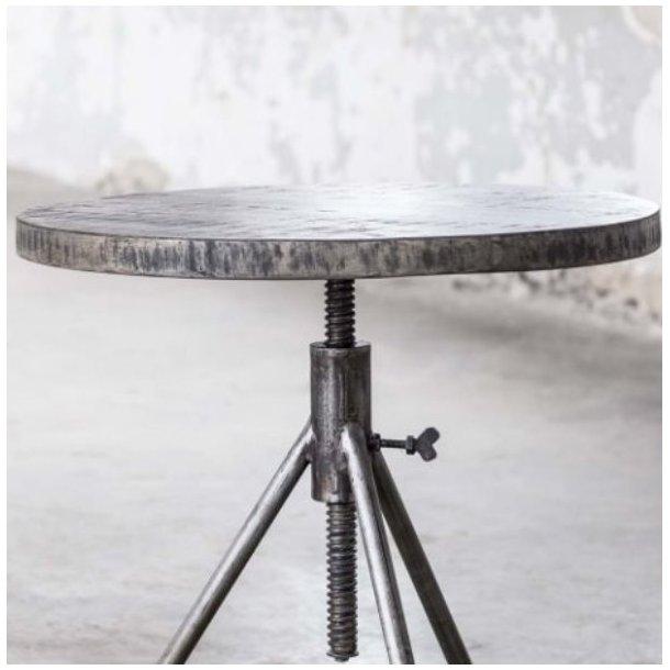 sofabord sort metal